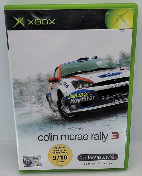 Colin McRae Rally 3 for Microsoft Xbox