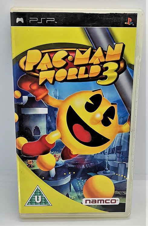 Pac-Man World 3 for Sony PlayStation Portable PSP