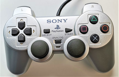 Sony PlayStation PS2 Dualshock 2 Controller (Satin Silver)