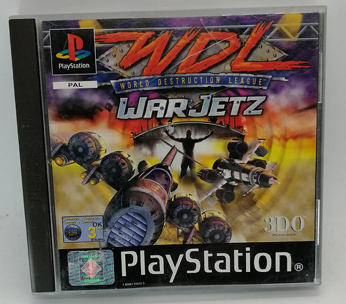 Destruction League: WarJetz for Sony PlayStation PS1