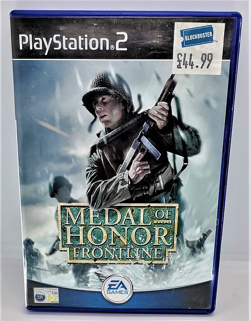 Medal of Honor: Frontline for Sony PlayStation 2 PS2