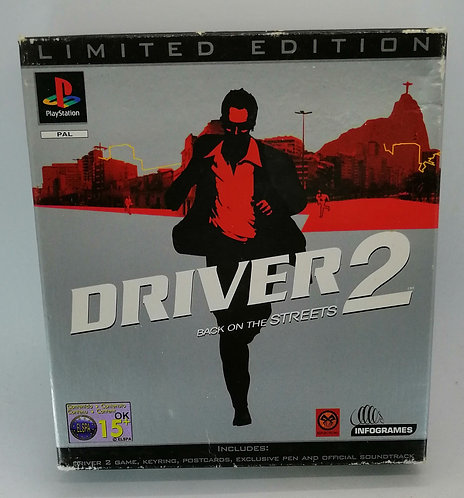 Driver 2: Limited Edition for Sony PlayStation PS1