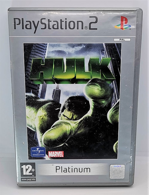 Hulk for Sony PlayStation 2 PS2