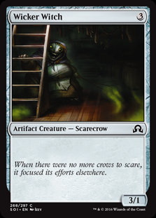 MAGIC THE GATHERING SHADOWS OVER INNISTRAD Card - 268/297 : Wicker Witch