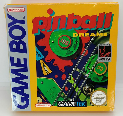 Pinball Dreams for Nintendo Game Boy