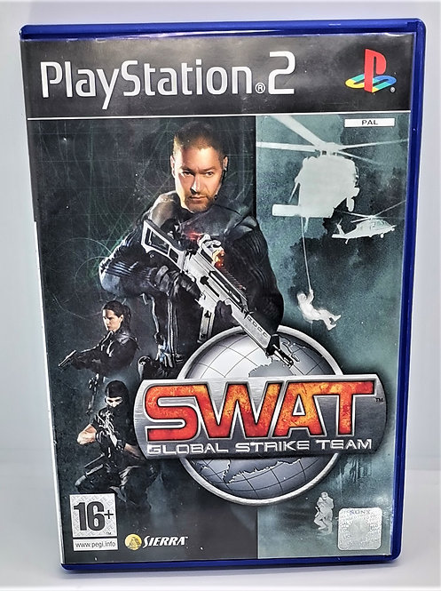 SWAT: Global Strike Team for Sony PlayStation 2 PS2