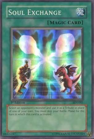Yu-Gi-Oh! Card SDY-E037 Soul Exchange