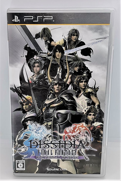 Dissidia Final Fantasy: Universal Tuning for Sony PlayStation Portable PSP