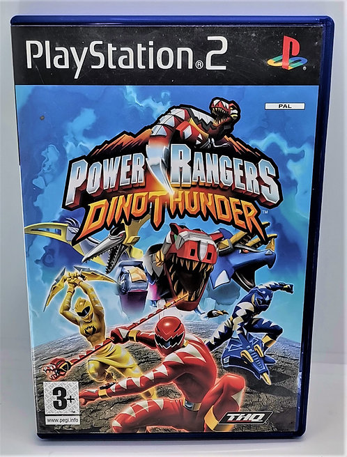 Power Rangers: Dino Thunder for Sony PlayStation 2 PS2