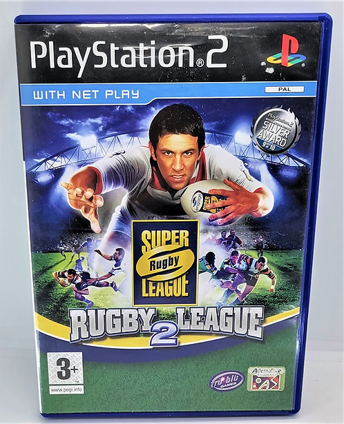 Rugby League 2 for Sony PlayStation 2 PS2