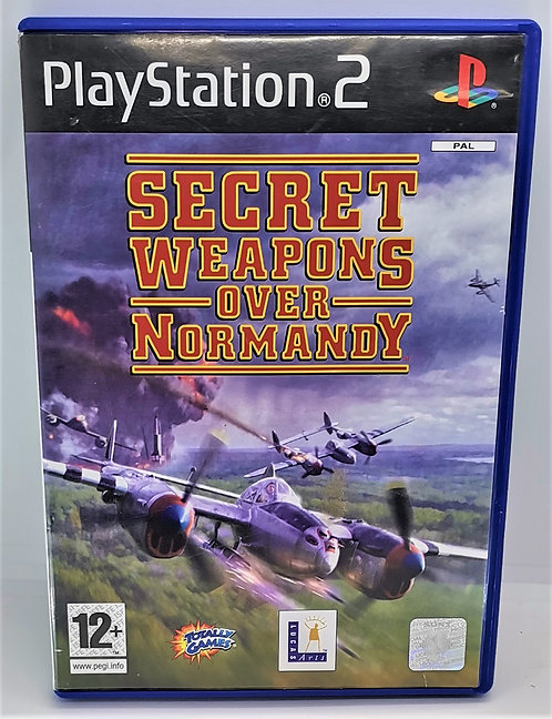 Secret Weapons Over Normandy for Sony PlayStation 2 PS2