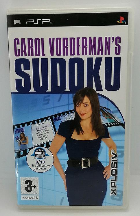Carol Vorderman's Sudoku for Sony PlayStation Portable PSP