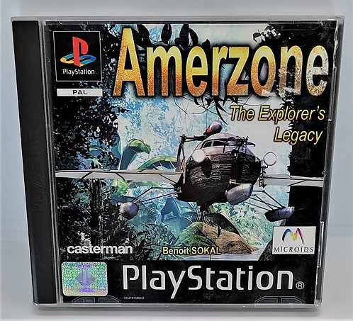 Amerzone: The Explorer's Legacy for Sony PlayStation PS1