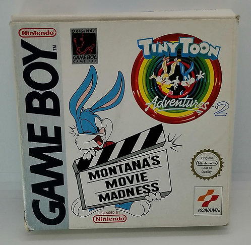 Tiny Toon Adventures: Montana's Movie Madness for Nintendo Game Boy