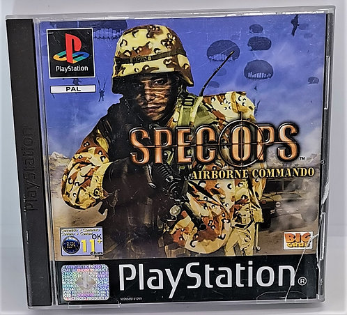Spec Ops: Airborne Commando for Sony PlayStation PS1