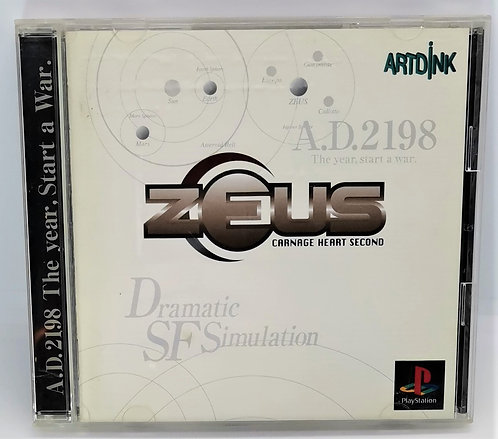 Zeus: Carnage Heart Second for Sony PlayStation PS1