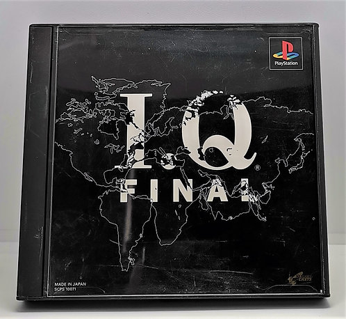 I.Q: Final for Sony PlayStation PS1