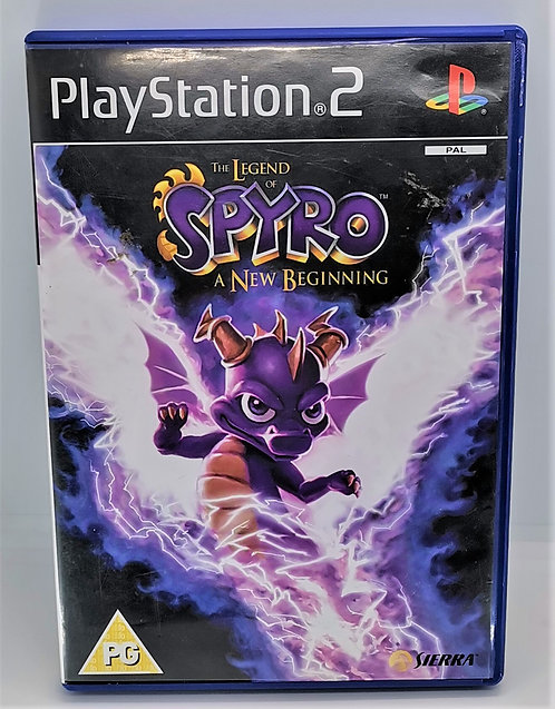 The Legend of Spyro: A New Beginning for Sony PlayStation 2 PS2
