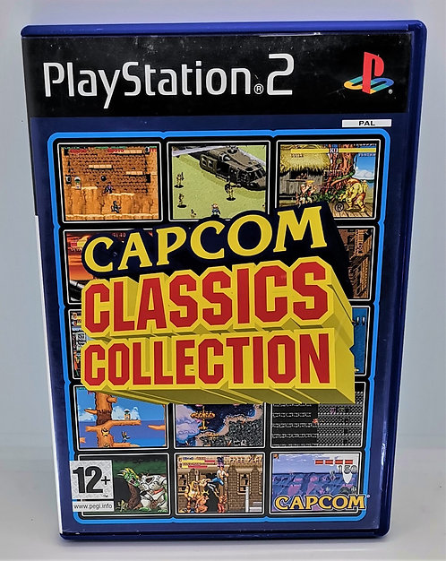 Capcom Classics Collection for Sony PlayStation 2 PS2