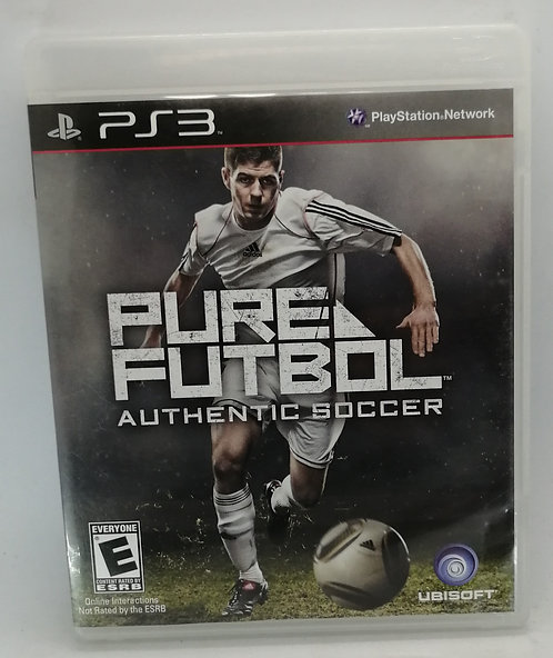 Pure Futbol for Sony PlayStation 3 PS3