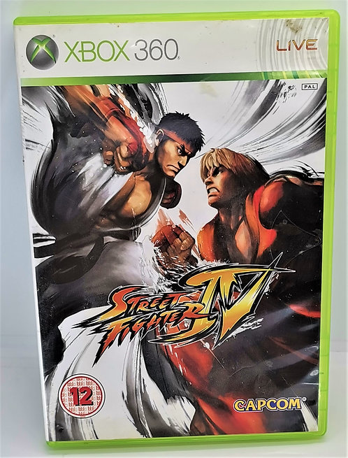 Street Fighter IV for Microsoft Xbox 360