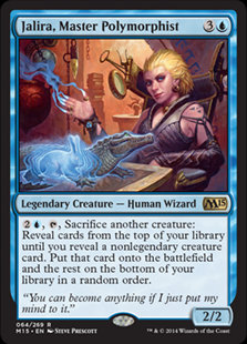 MAGIC THE GATHERING MAGIC 2015 Card - 064/269 : Jalira, Master Polymorphist