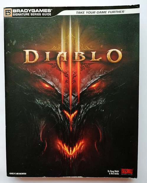 Diablo III (3) Official Strategy Guide by BradyGames