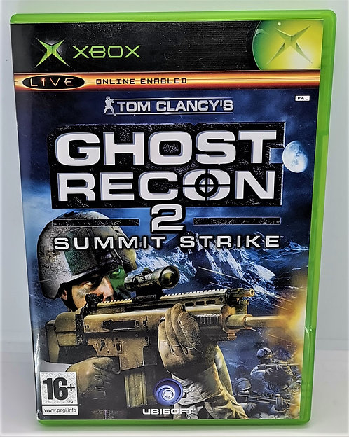 Tom Clancy's Ghost Recon 2: Summit Strike for Microsoft Xbox