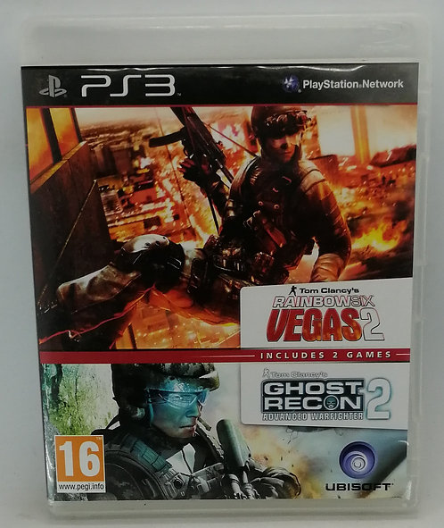 Rainbow Six Vegas 2 and Ghost Recon Advanced Warfighter 2 for Sony PlayStation 3
