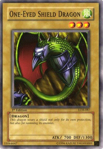 Yu-Gi-Oh! Card MRL-E127 One-Eyed Shield Dragon