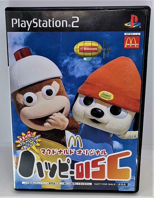 McDonald's Original Happy Disc for Sony PlayStation 2 PS2