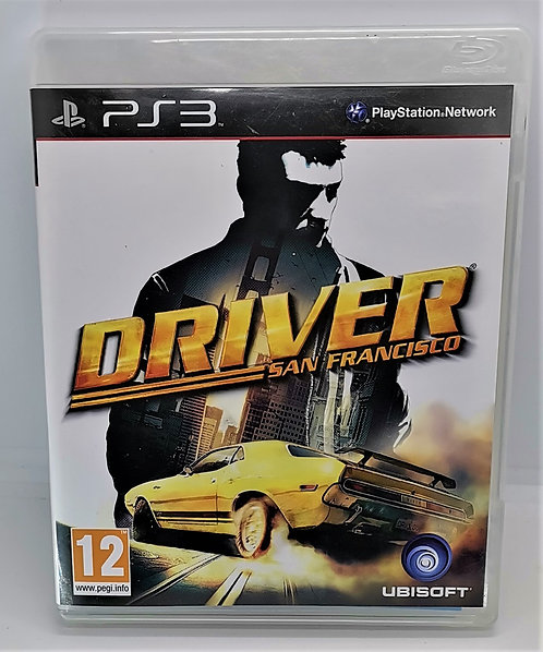Driver: San Francisco for Sony PlayStation 3 PS3