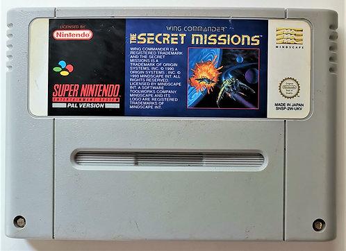 Wing Commander: The Secret Missions for Super Nintendo SNES