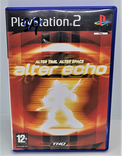 Alter Echo for Sony PlayStation 2 PS2