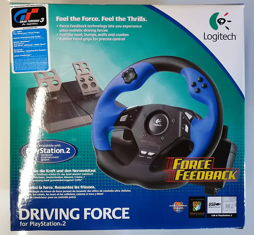 Logitech Driving Force for Sony PlayStation 2 PS2
