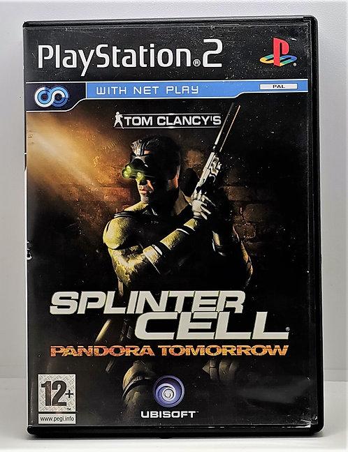 Tom Clancy's Splinter Cell: Pandora Tomorrow for Sony PlayStation 2 PS2