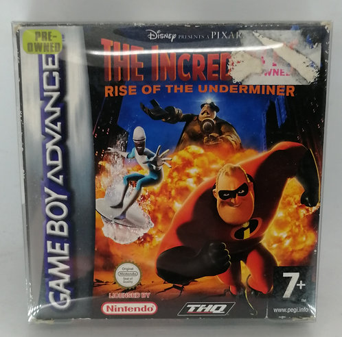 The Incredibles: Rise of the Underminer for Nintendo Game Boy Advance GB