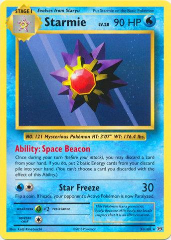 Pokemon Single Card XY - EVOLUTIONS - 031/108 : Starmie