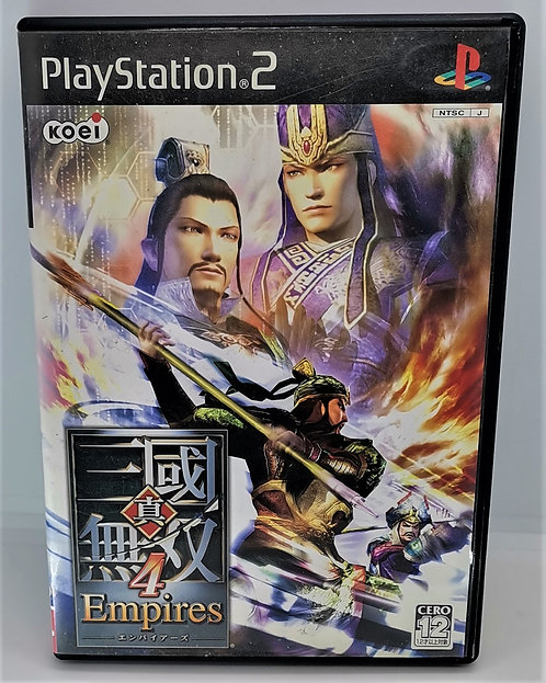 Shin Sangoku Musou 4 Empires (Dynasty Warriors 5 Empires) for Sony PlayStation 2