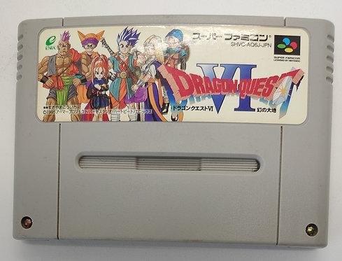 Dragon Quest VI for Nintendo Super Famicom