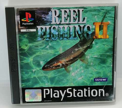 Reel Fishing II (2) for Sony PlayStation PS1