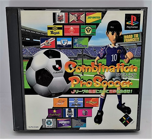 Combination Pro Soccer for Sony PlayStation PS1