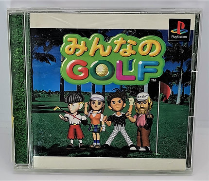 Everybody's Golf for Sony PlayStation PS1