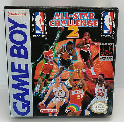 NBA All-Star Challenge 2 for Nintendo Game Boy
