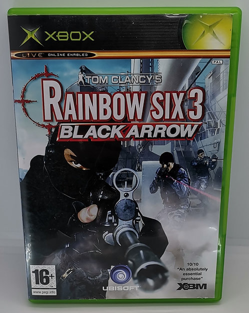 Tom Clancy's Rainbow Six 3: Black Arrow for Microsoft Xbox