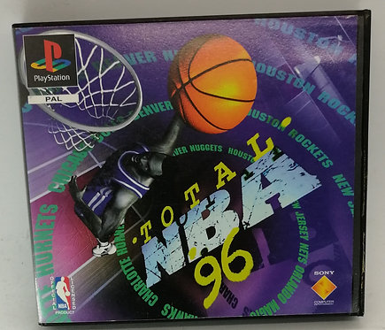 Total NBA '96 (Rental Version) for Sony PlayStation PS1