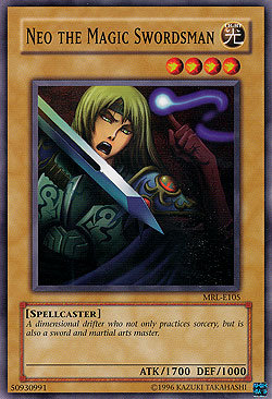 Yu-Gi-Oh! Card MRL-E105 Neo the Magic Swordsman