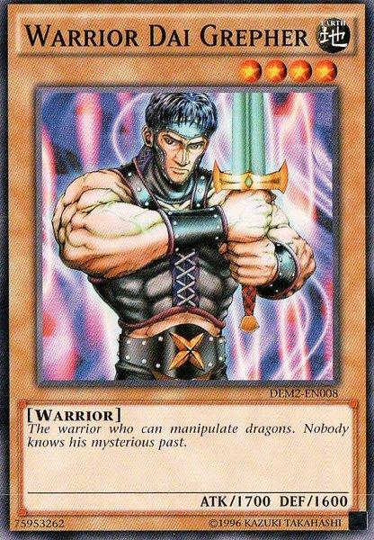 Yu-Gi-Oh! Card LOD-020 Warrior Dai Grepher