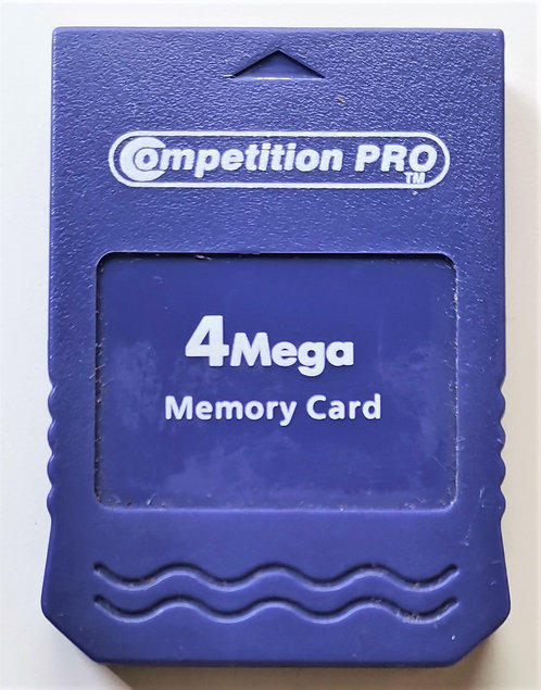 Competition Pro 4mega Memory Card for Nintendo GameCube