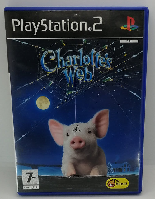 Charlotte's Web for Sony PlayStation 2 PS2